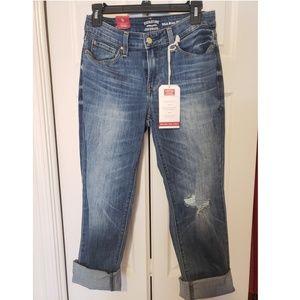 Levi slim cuffed jeans